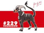 #229 Houndoom