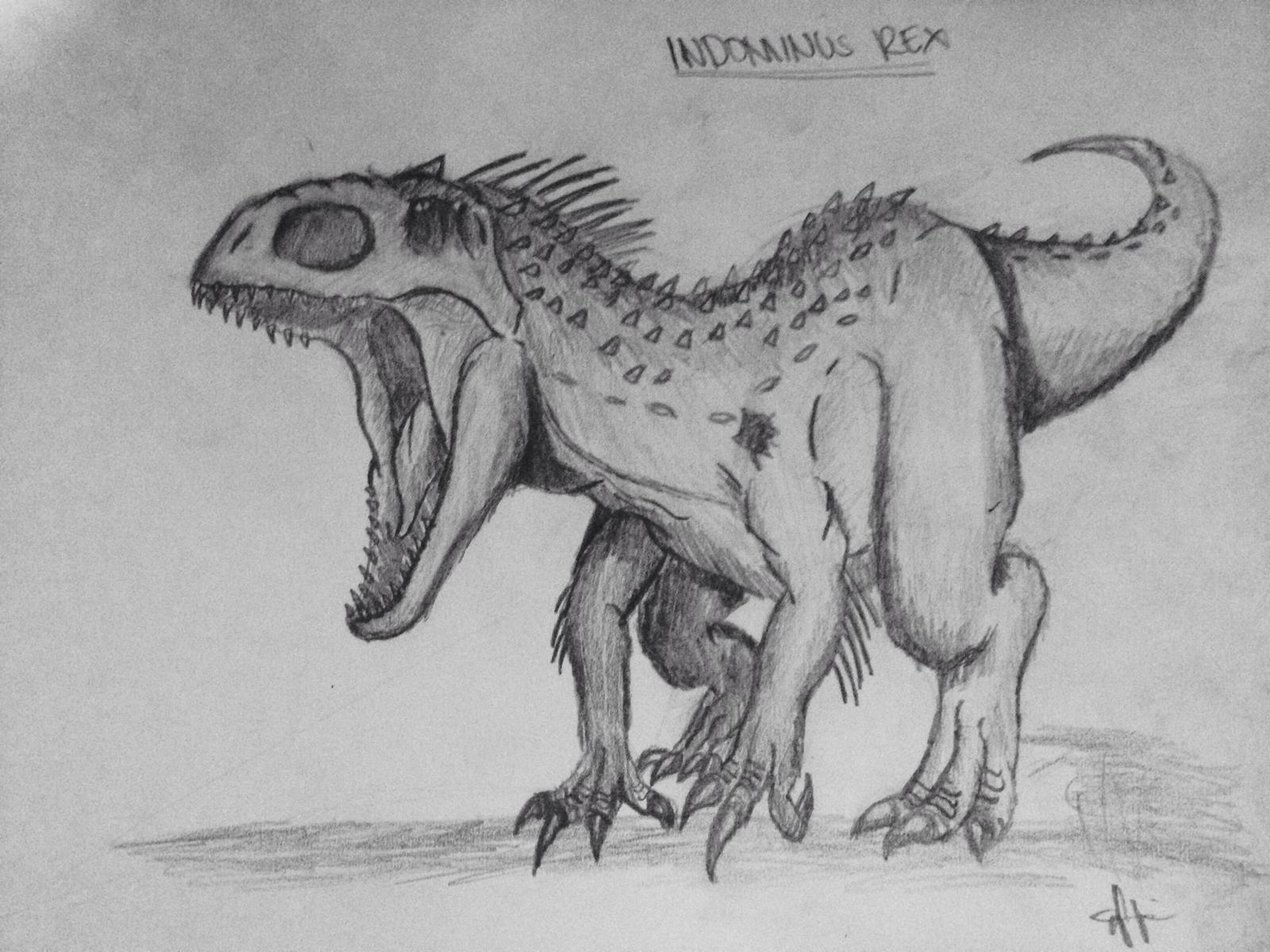 indominus rex by tyrant33 on deviantart