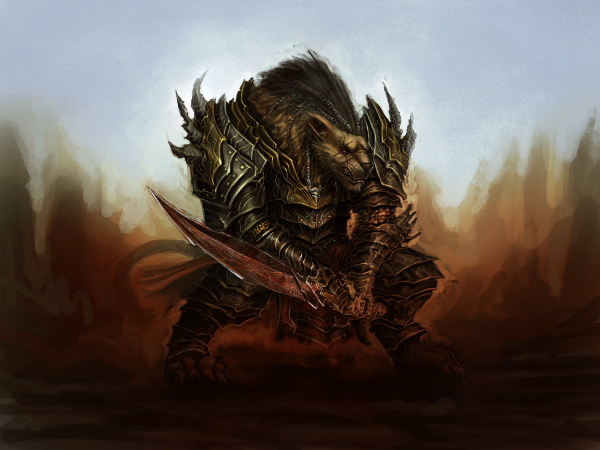Heavy swordsman by Dandzialf
