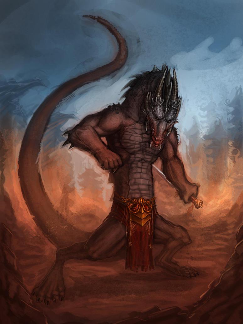 Dragon warrior by Dandzialf