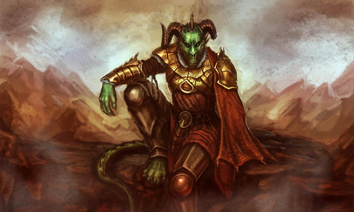 The Dragon Knight by Dandzialf