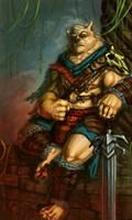 Wolf warrior by Dandzialf