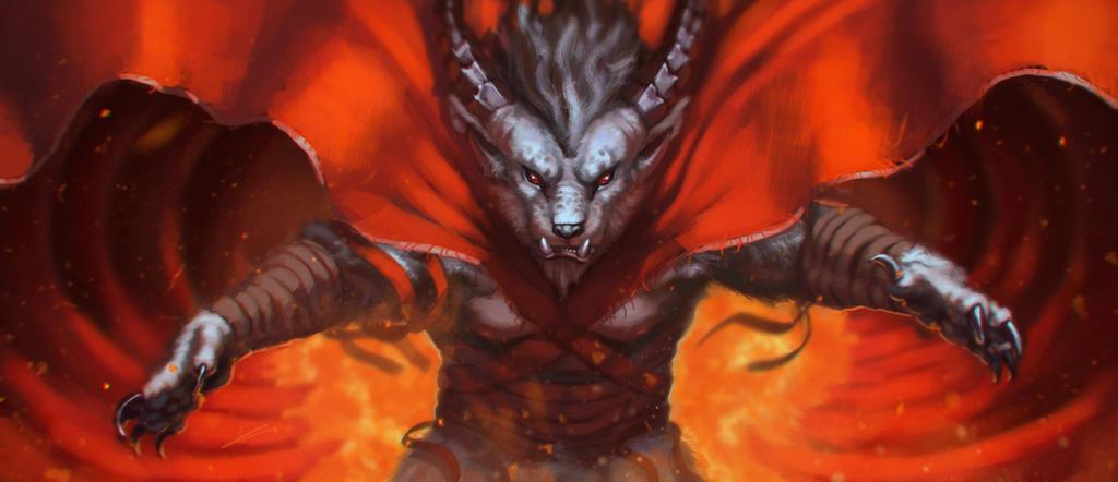 Charr Elementalist by Dandzialf