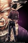 Jin Kazama Heihachi Mishima
