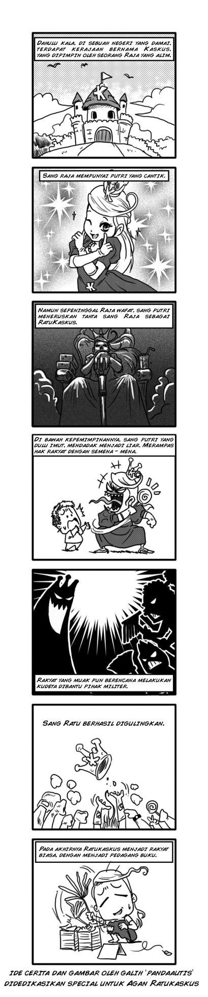 Komik Ratukaskus by pandaautis