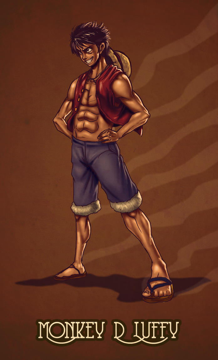 Monkey D luffy by pandaautis