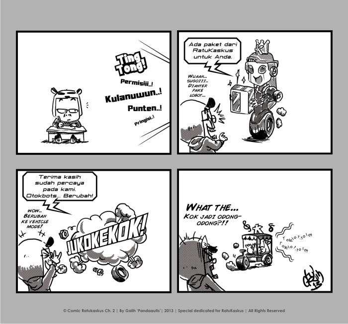 Komik RatuKaskus part 2 by pandaautis