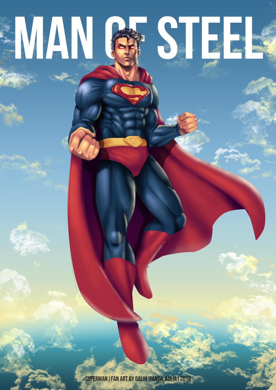 Man of Steel by pandaautis
