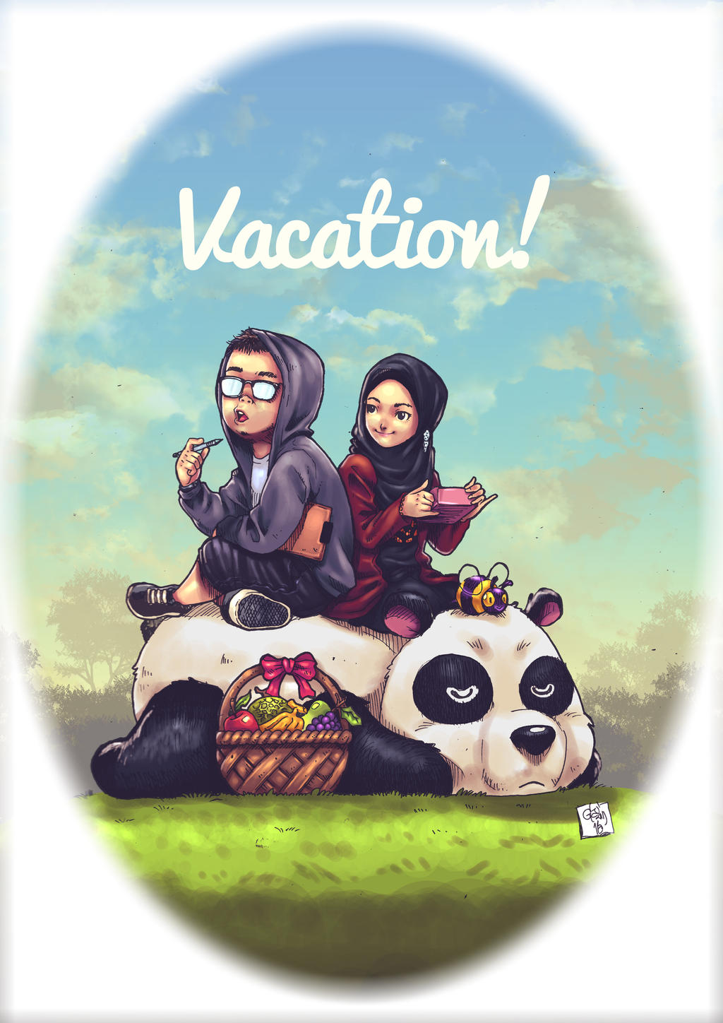 Vacation by pandaautis