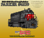 Parker #6539 Locomotive Poster