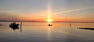 Kayak Ocean Sunset (2/2) by eightyblueskylights
