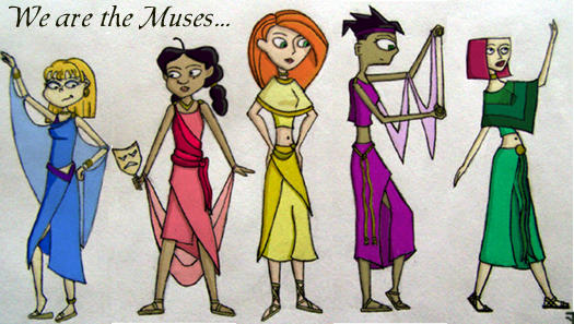 We are The Muses by HelgaGP