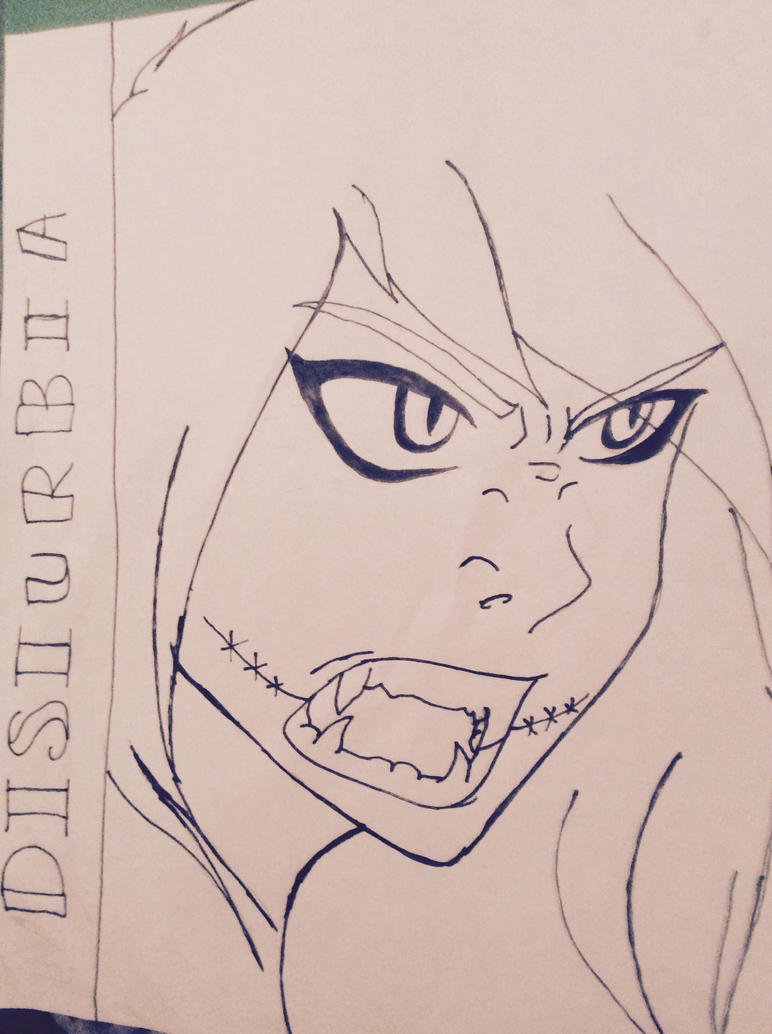 My comic disturbia for creepypasta by ArticNeko14