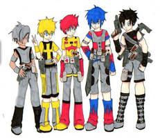 The Autobots - Human by Mari-Kyomo