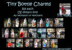 Tiny Bottle Charms - Done