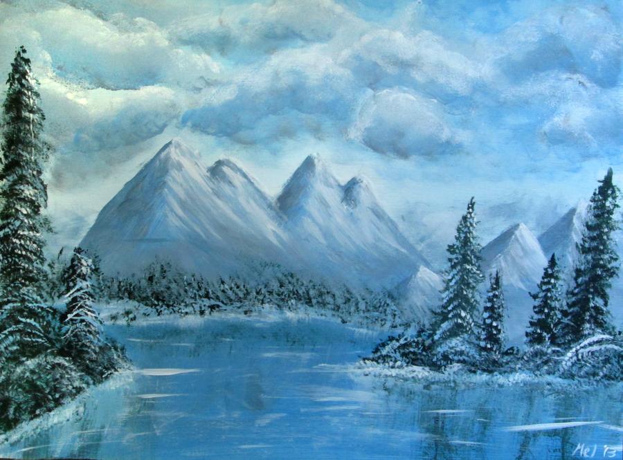 winter wonderland by mari kyomo on deviantart