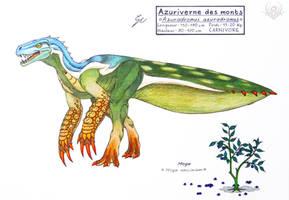 Hydra 3 - Azuradromus azuradromus by scorpenomorph