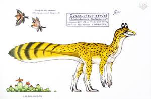 Hydra 3 - Lophodromus leptailurus by scorpenomorph