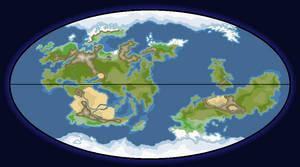 MAP of ERATIA (18 Scorpii-4)