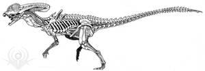 Dilophosaurus Alien