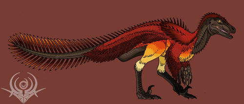 PhoenixRaptor (FENICHIU) by scorpenomorph