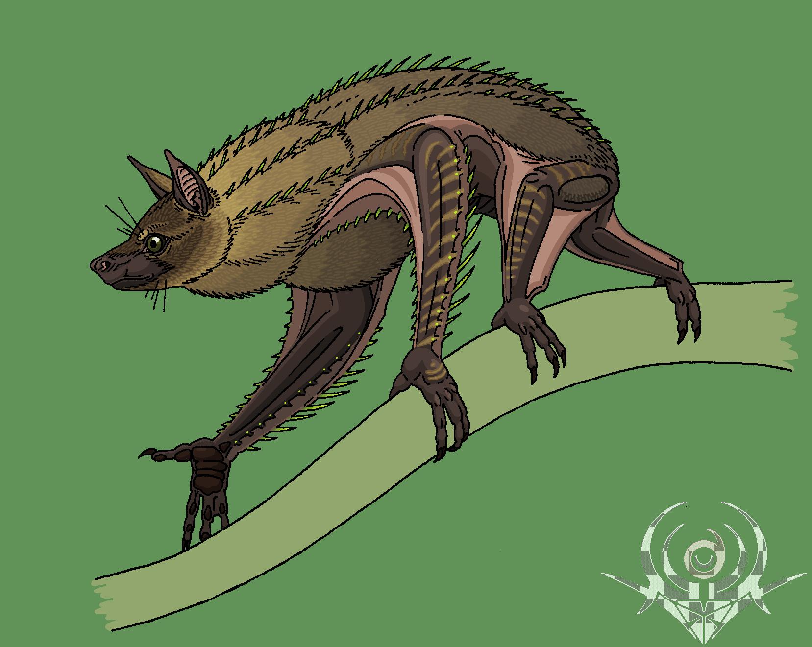 RoseSpines Bat (VESEPER) by scorpenomorph