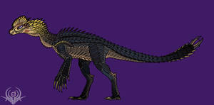 Zerolophosaurus (YUDILO) by scorpenomorph