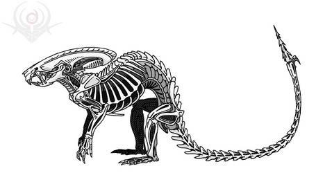 Rat Alien by scorpenomorph