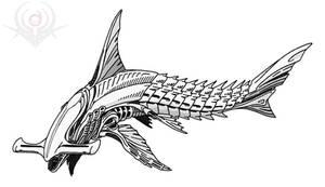 Hammer-Shark Alien
