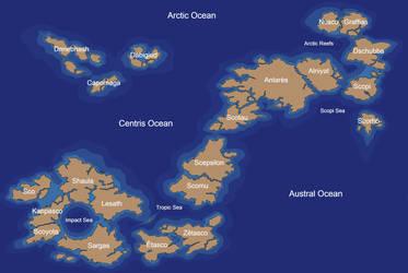 Zero Planet islands by scorpenomorph