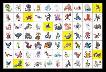 favorite Pokemon 2 by scorpenomorph