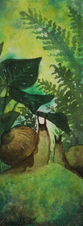 Snails Bookmark by The-Golem-Armada