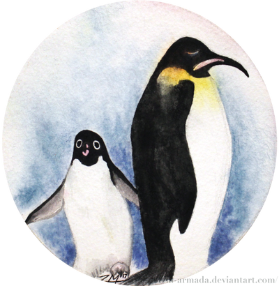 Penguins revisited by The-Golem-Armada