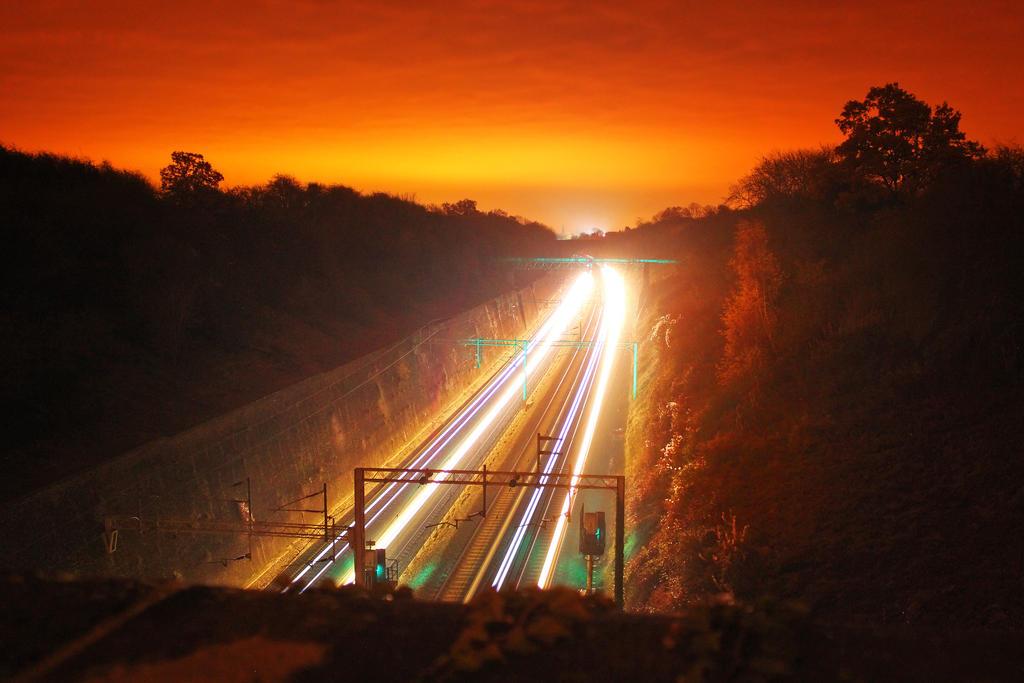 Train Race by ChrisDonohoe