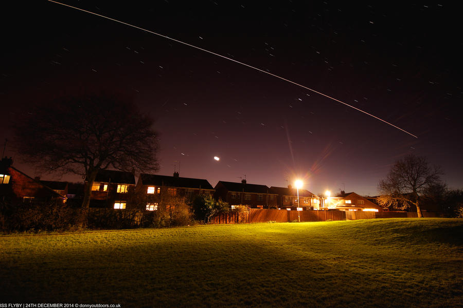 Santa Flyby! (ISS) by ChrisDonohoe