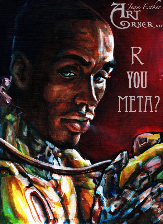 MetaSabian Portrait by Jesther101