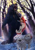 Illustration for Balto Zine