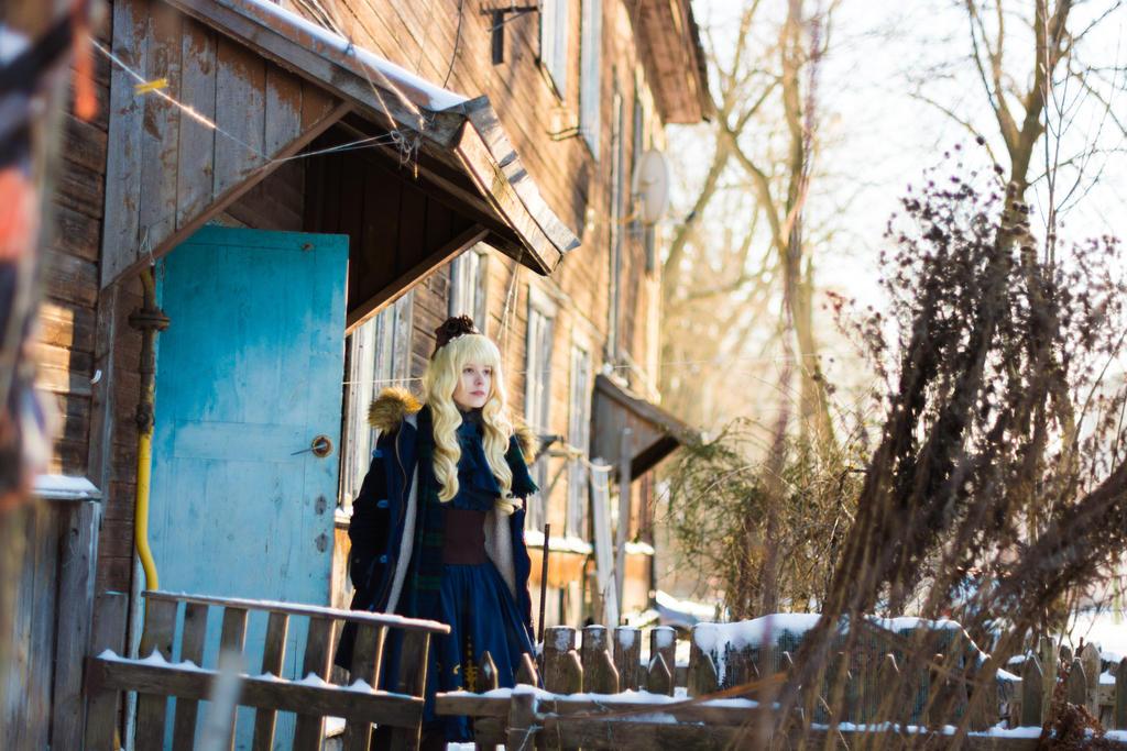 Blue winter lolita by CheshireSama