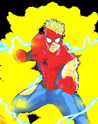 Super Saiyan Spider-Man (Battle Damaged)