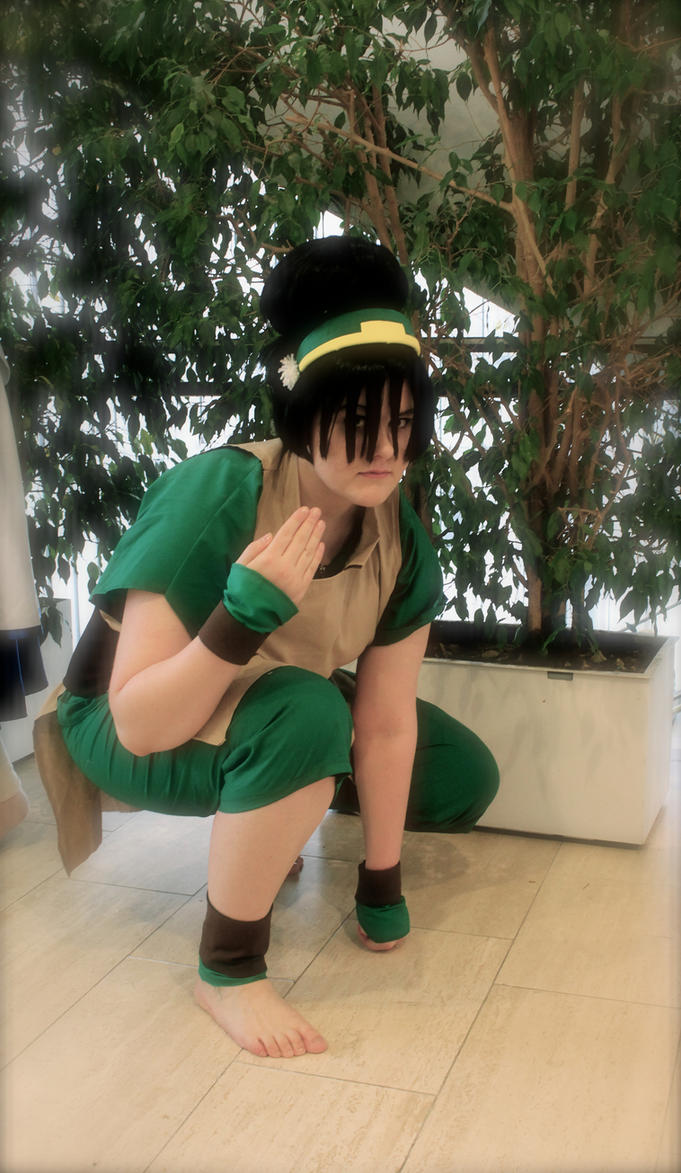 Toph Beifong, Avatar: The Last Airbender by Eringoo