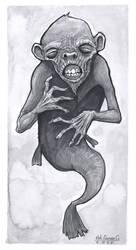 Fiji Mermaid by Nik-Duran-G