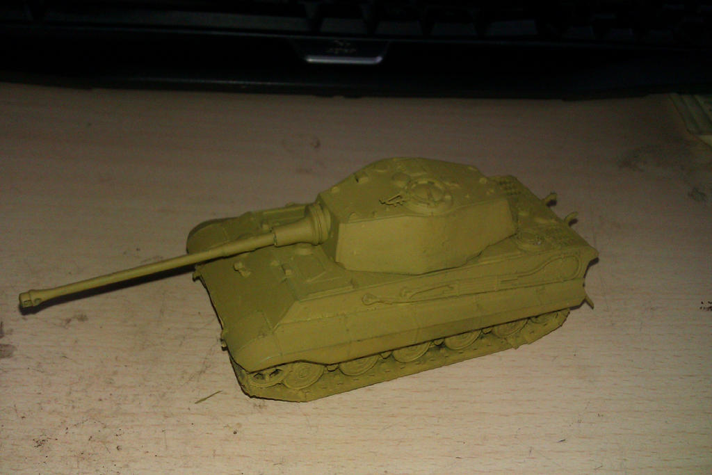 My little tankies. 1_72_tiger_2_tank_work_in_progress__by_ronineter-d5xgggo