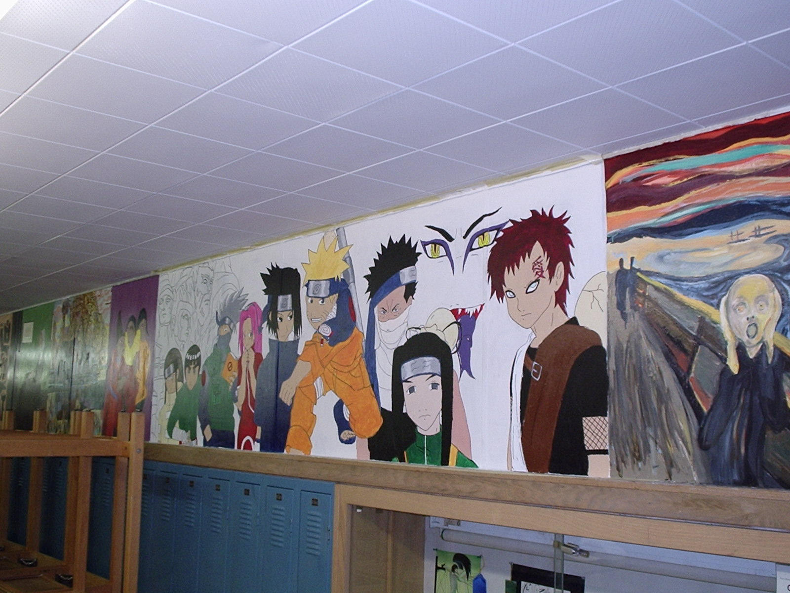 Naruto mural by animatt on deviantart for Mural naruto