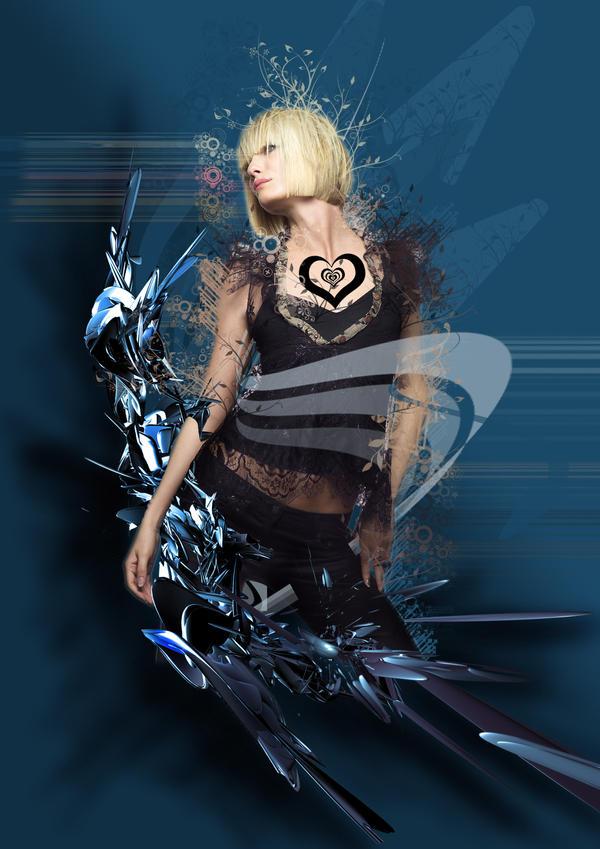 Blonde n Blue by twistedhero