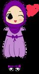 Female Muslim Chibi