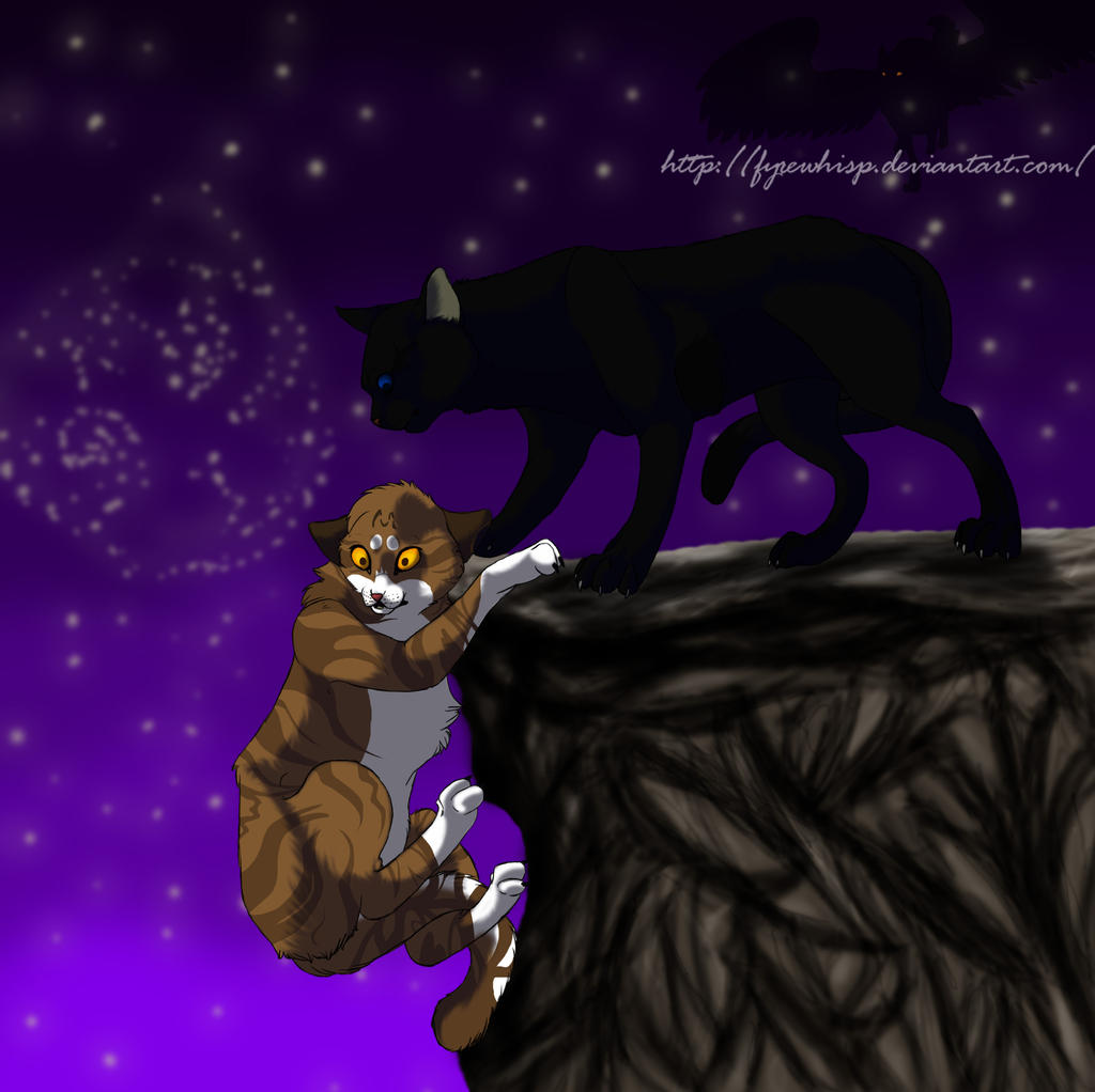 Leafpool And Crowfeather By Fyrewhisp On DeviantArt