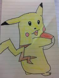 my Pikachu keyring