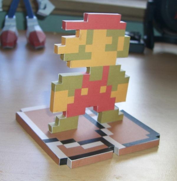 Mario papercraft by Kaczorro