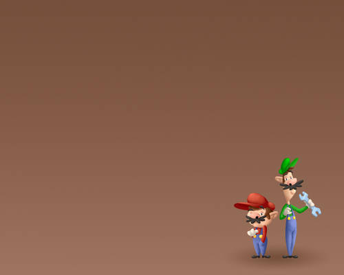Mario + Luigi Wallpaper