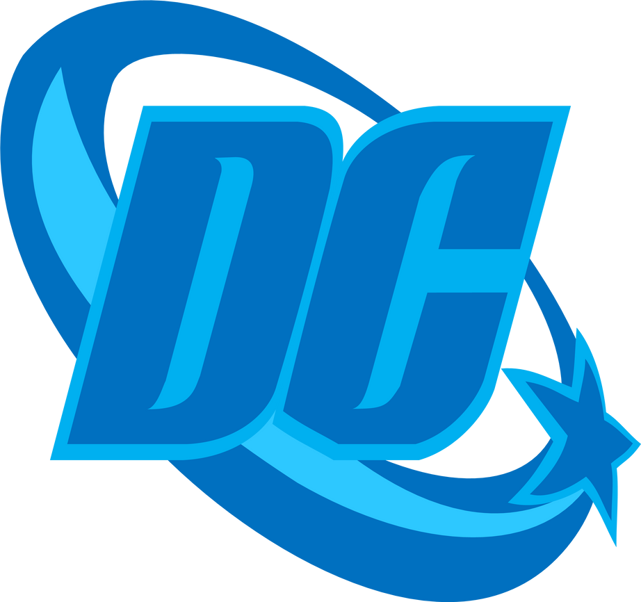 dc comics logo 2005 by jmkprime on deviantart